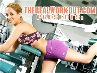 busty Capri knows how to satisfy her fitness trainer