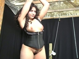 Bondage auditions for plumper lalin girl chick