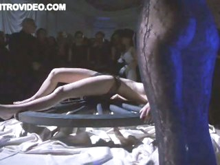 Golden-haired Babe Gets Some S&m Action In Front Of an Audience - Movie Scene