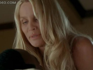 Unbelievably Gorgeous Nicolette Sheridan Dancing In Super Hot Underware