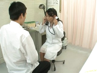 Cock-Loving Asian MILF Natsumi Kitahara Tit Fucks a Patient