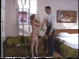Black On Blonde Action Betwixt Peter Lawrence and Tami Monroe