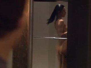 Hawt Jaime Murray Taking a Shower