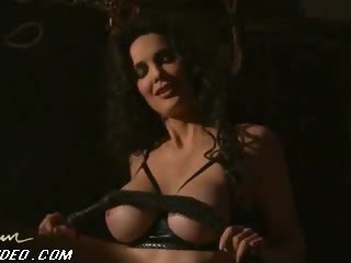Julie Strain Has Dominatrix Fantasies