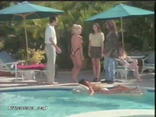 Topless Cheryl Bartel Enjoying Her Time By The Pool
