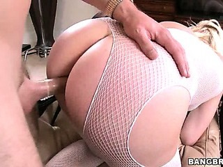 Three Huge Asses Getting Pounded Hardcore
