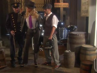 Hot Blonde Detective Jessica Drake Getting Her Pussy Fucked In 3some