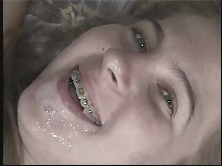 Cute Sweet Teen Braced For A Good Hard Fuck !