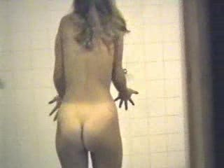 Hidden cam - teen girl in a shower 01