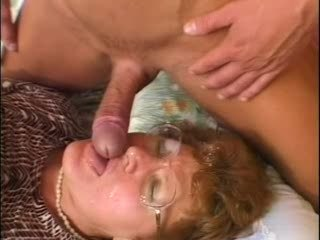 Grandma Caught Her Grandson While Jerking off