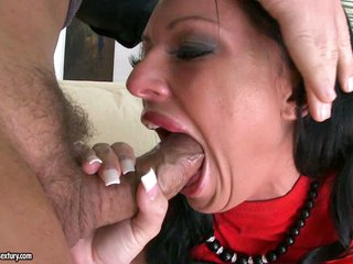 Gorgeous Kerry Louise takes a hard face hole fucking