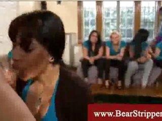 Cfnm lusty latina gets a dirty facial