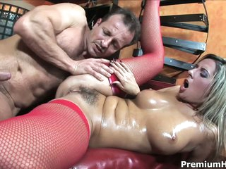 Bushy european milf Daria Glower gets screwed hard