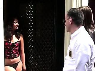 Horny dutch hooker in lingerie