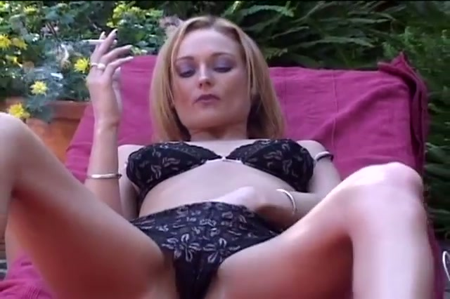 Nasty blonde lesbians pussy fun outdoors