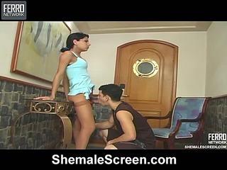 Sasha live shemale show