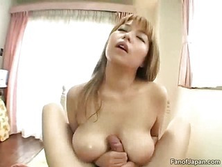 Oily tit fuck