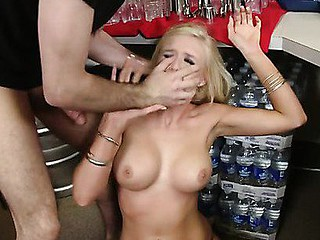 James Dean is a bartender at the local pub. Life was great for him until this snobby slut showed up and tried to jack his tip jar! This Guy catches Dylan red handed and exposes the truth to her but this babe didn't want to listen... This Chab resolves sufficiently is sufficiently...This little wang craving snob got what that babe wanted...  Punishment warranted!