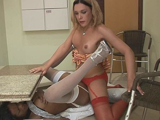 Voluptuous dick-gal prefers drilling a taut backdoor of a red hawt ladyboy