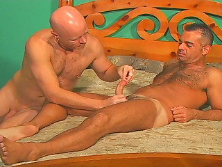 John Marcus breaks out the cockrings and dildos and fucks himself
