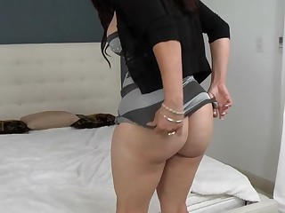 Horny mother I'd like to fuck cannot stop cumming from ardent sex
