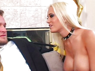 Trina Michaels cleans up to get dirty