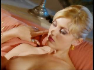 Blonde Sandra Iron and friends have a hot fuck party previous to cards