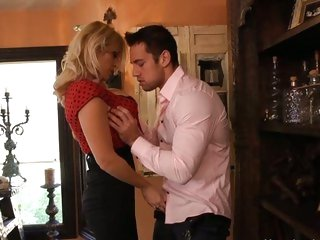 Naughty Charlee Pursue seduces this sexy hunk